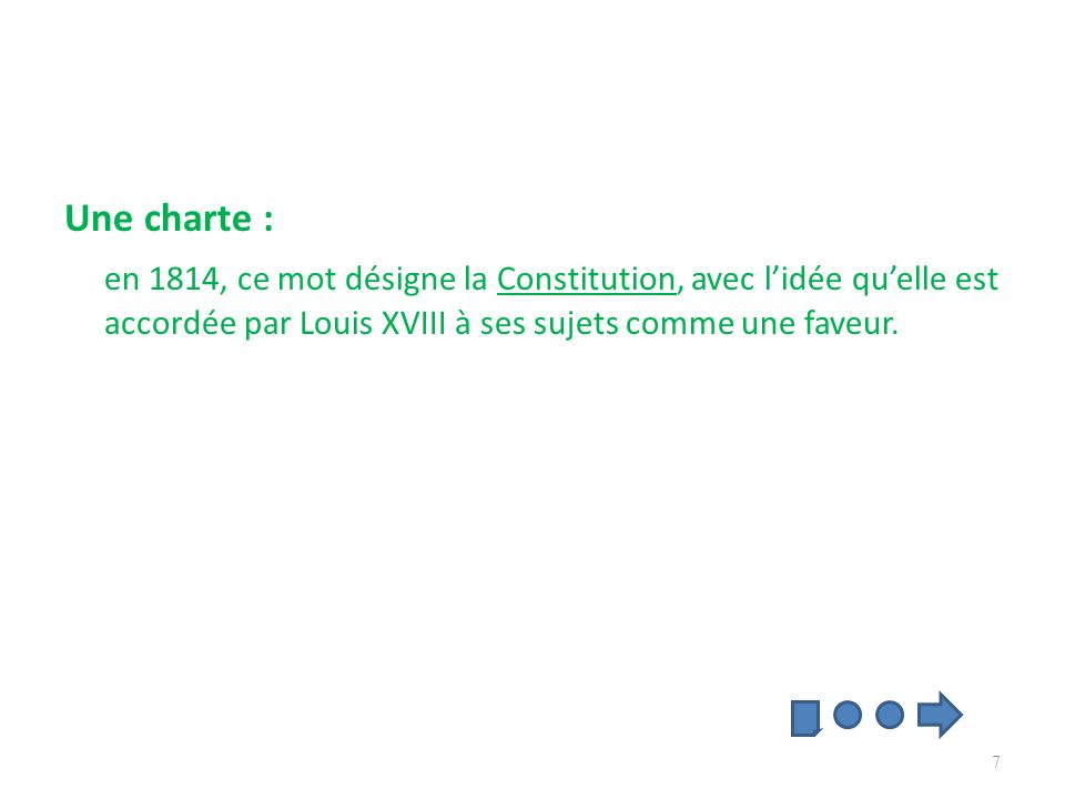 Définir le suffrage censitaire Le suffrage censitaire : seuls les hommes qui paient un certain montant dimpôts ont le droit de voter.