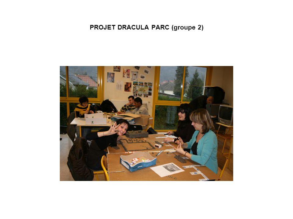 PROJET DRACULA PARC (groupe 2)