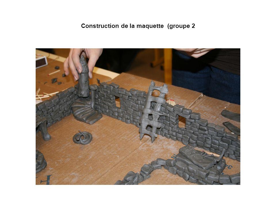 Construction de la maquette (groupe 2