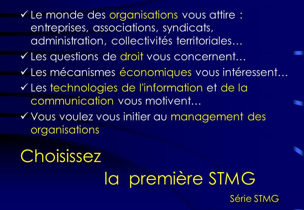 Comprendre le comportement des consommateurs, Analyser un produit, sa clientèle, les réseaux de vente… Vous aimeriez Choisissez la terminale Mercatique (marketing) Série STMG