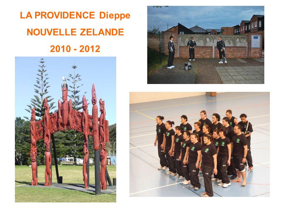 LA PROVIDENCE Dieppe NOUVELLE ZELANDE 2010 - 2012