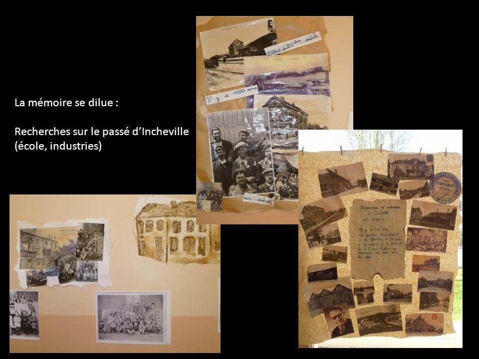 La mémoire se dilue : Recherches sur le passé dIncheville (école, industries)