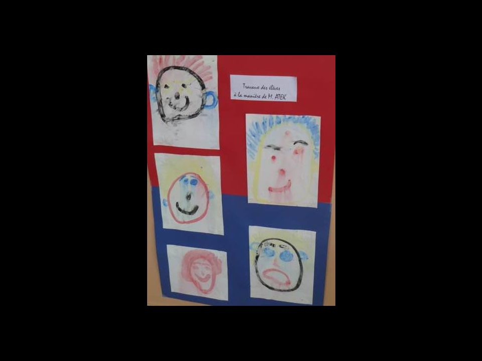 Portraits de Saïd Atek par les élèves