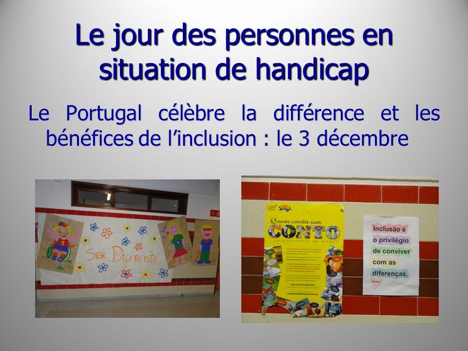 Le jour des personnes en situation de handicap Le Portugal célèbre la différence et les bénéfices de linclusion : le 3 décembre
