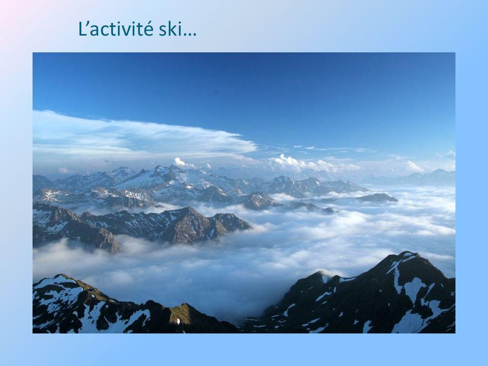 Lactivité ski…