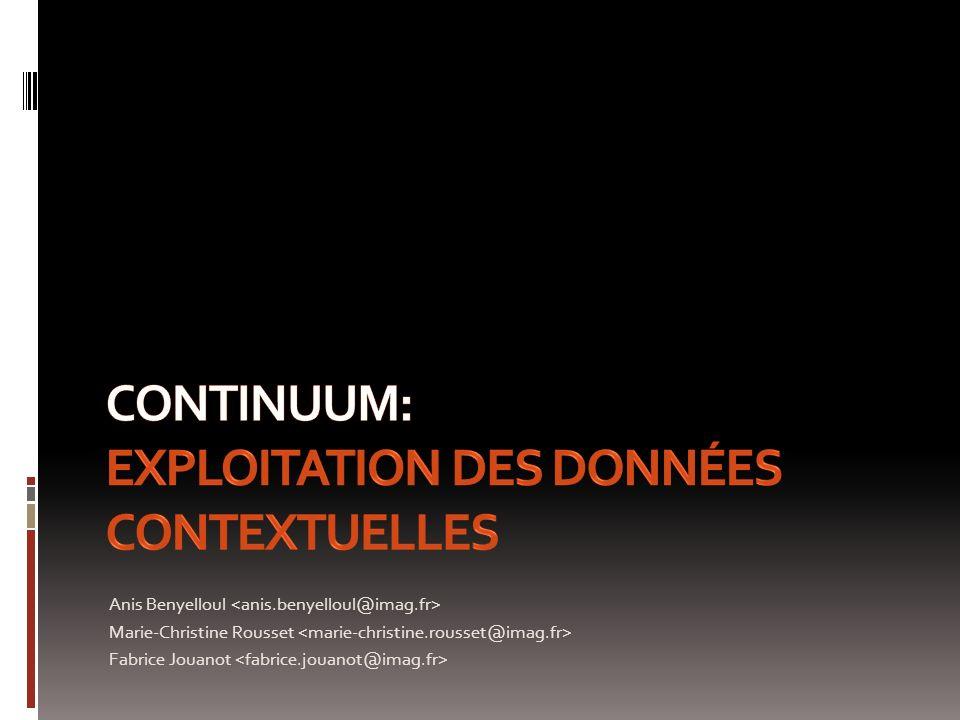 Anis Benyelloul Marie-Christine Rousset Fabrice Jouanot