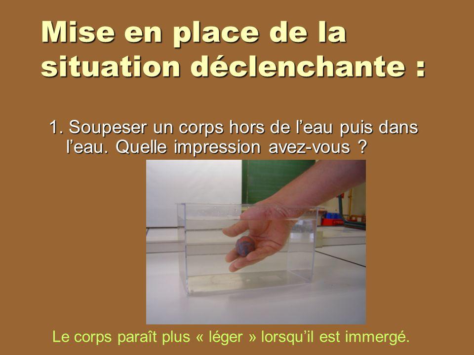 2.Mettre sa main dans un sac plastique puis la mettre dans leau.