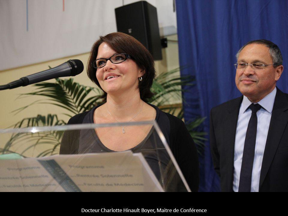Docteur Charlotte Hinault Boyer, Maitre de Conférence