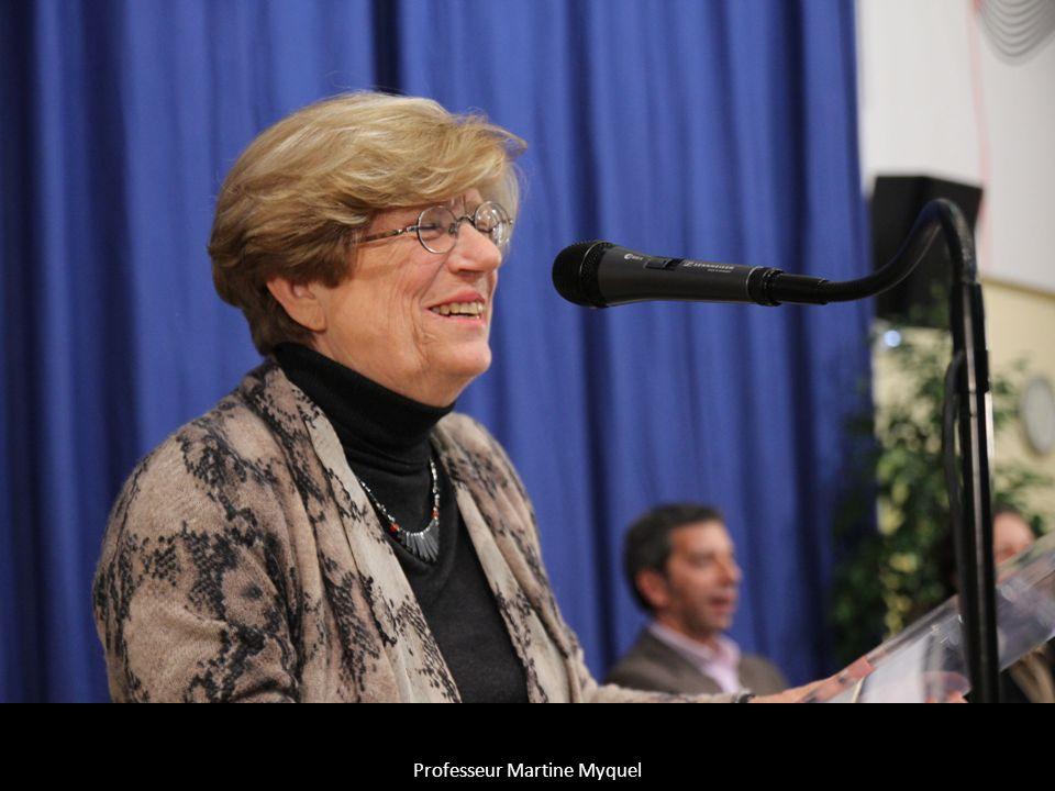 Professeur Martine Myquel