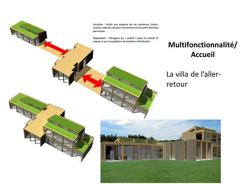 Multifonctionnalité/ Accueil La villa de laller- retour