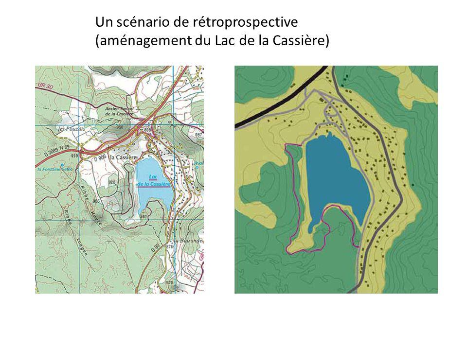 Un scénario de rétroprospective (aménagement du Lac de la Cassière)