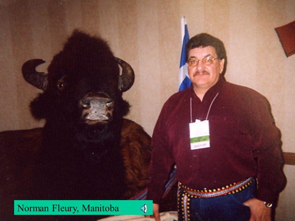 Norman Fleury, Manitoba