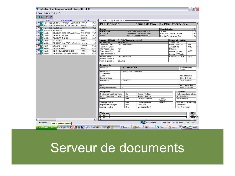 Serveur de documents