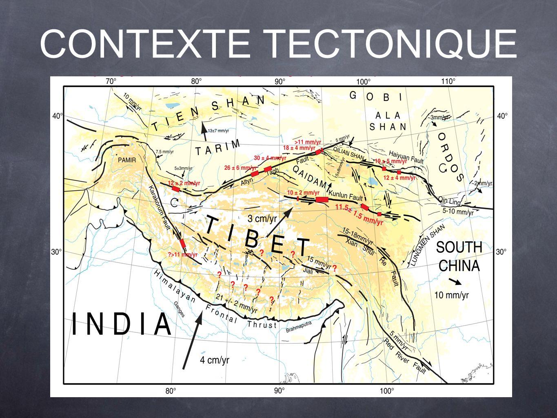 CONTEXTE TECTONIQUE