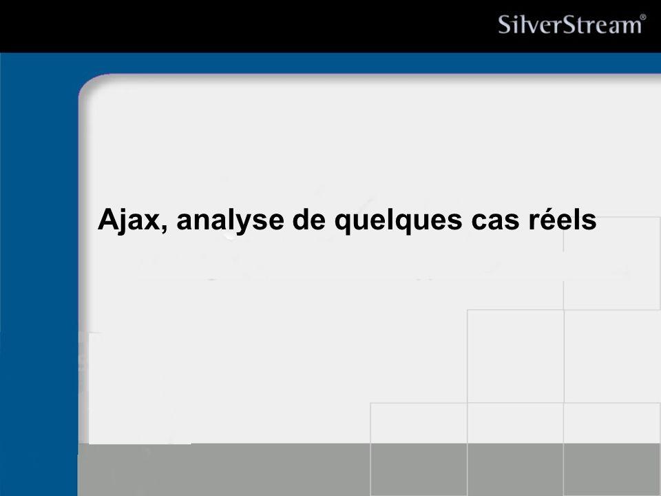 Ajax, analyse de quelques cas réels
