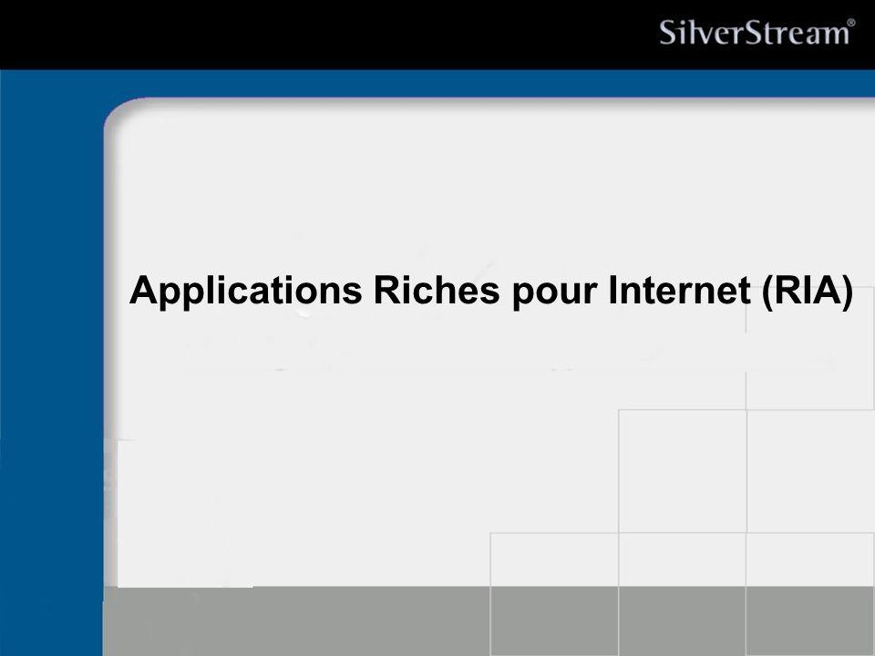 Applications Riches pour Internet (RIA)