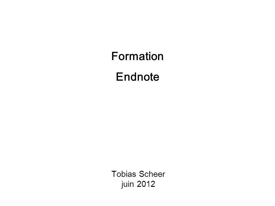 Tobias Scheer juin 2012 Formation Endnote