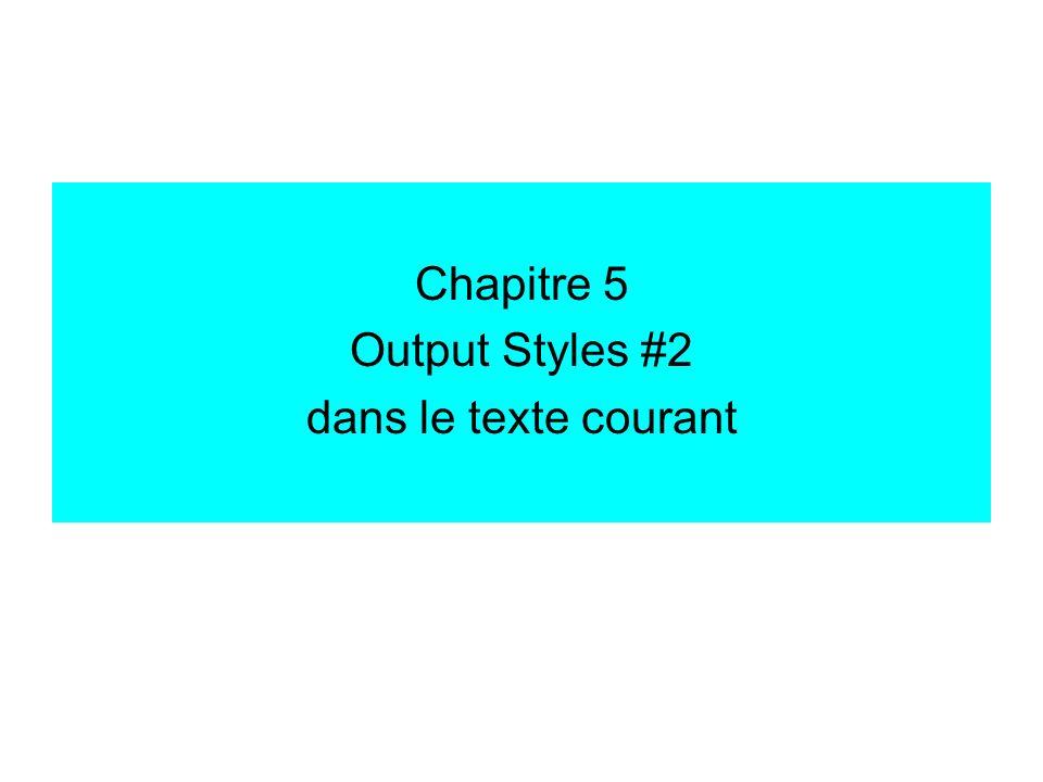 Output style: dans le texte Citations / Templates multiple citation separator: ce qui sépare plusieurs citations lorsquelles sont adjacentes.