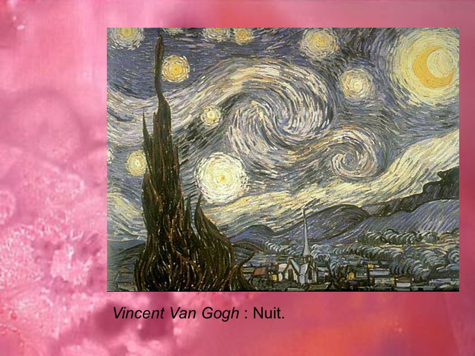 Vincent Van Gogh : Nuit.