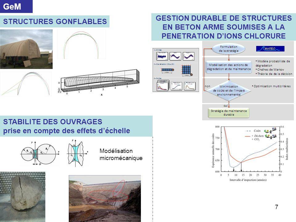 18 Structures ferroviaires GeM/Ifsttar Amélioration des sols support de chaussée CSTB/GeM Concassage, Ifsttar/ GeM.