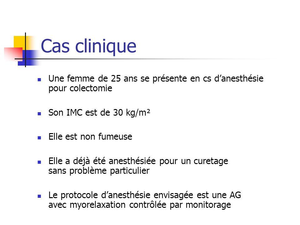 Scores de prédiction du risque de NVPO ouinonDurée > 60 min nonouiMorphiniques postop.