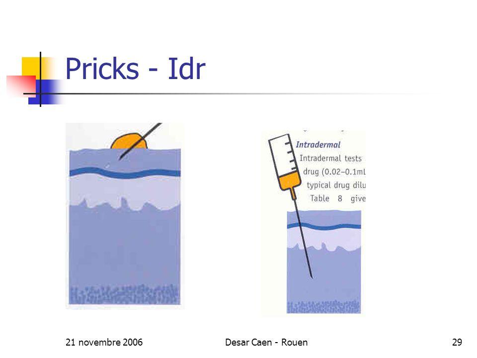 21 novembre 2006Desar Caen - Rouen29 Pricks - Idr