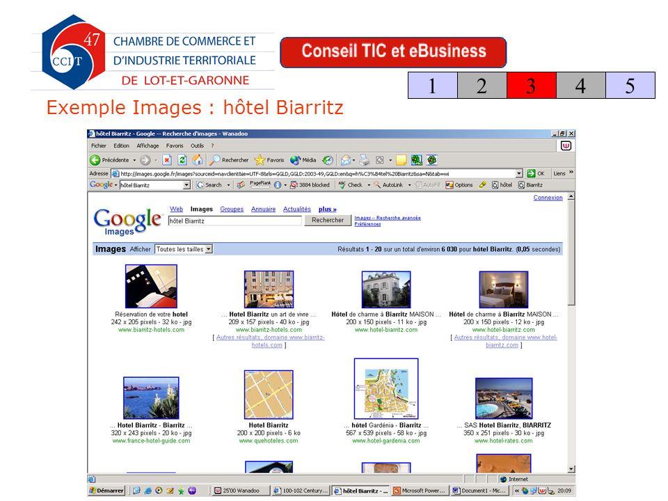 Exemple Images : hôtel Biarritz 123 4 5