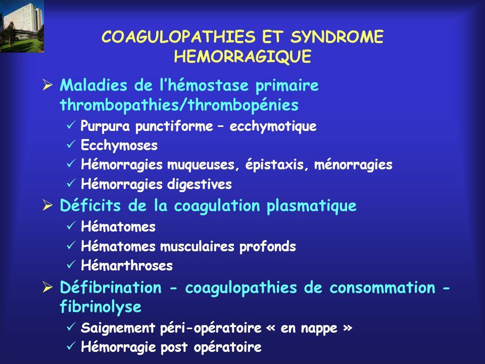 LHEMOPHILIE UNE MALADIE HEMORRAGIQUE « TYPIQUE » « Révélation » A lâge de la marche Après un traumatisme Bilan systématique « Accidents hémorragiques » Hémarthroses/articulations « cibles » Hématomes musculaires « profonds » Saignement post traumatique ou post chirurgical prolongé « en 2 temps » « Une hémophilie méconnue même mineure est une maladie grave »