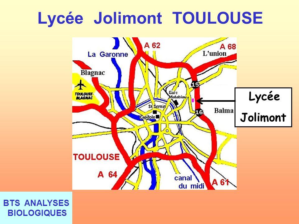 Lycée Jolimont TOULOUSE Lycée Jolimont