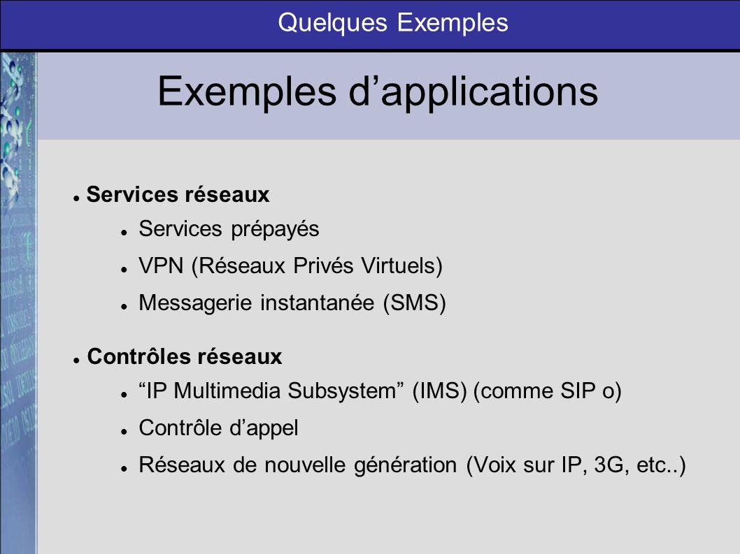 Une technologie davenir Conclusion Solution Open Source présentant une grande interopérabilité (J2EE, CORBA,...) Communauté de développeurs en pleine expansion ( Mobicents, Open Cloud,...) Succés dimplémentation chez de grands opérateurs (Vodafone, NTT DoCoMo, Telco, …)