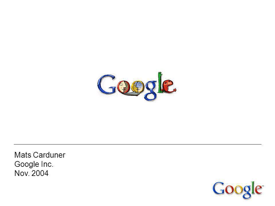 Les débuts à Stanford 1995 : Google, un projet de recherche de l université de Stanford