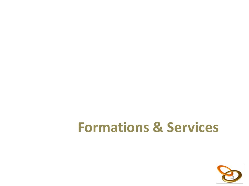 13 Formations & Services 13