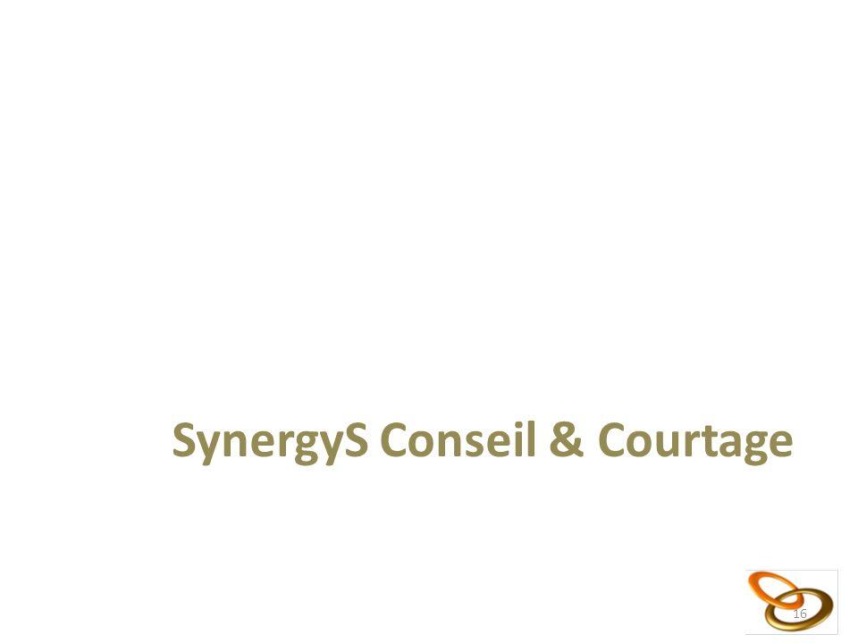 16 SynergyS Conseil & Courtage 16