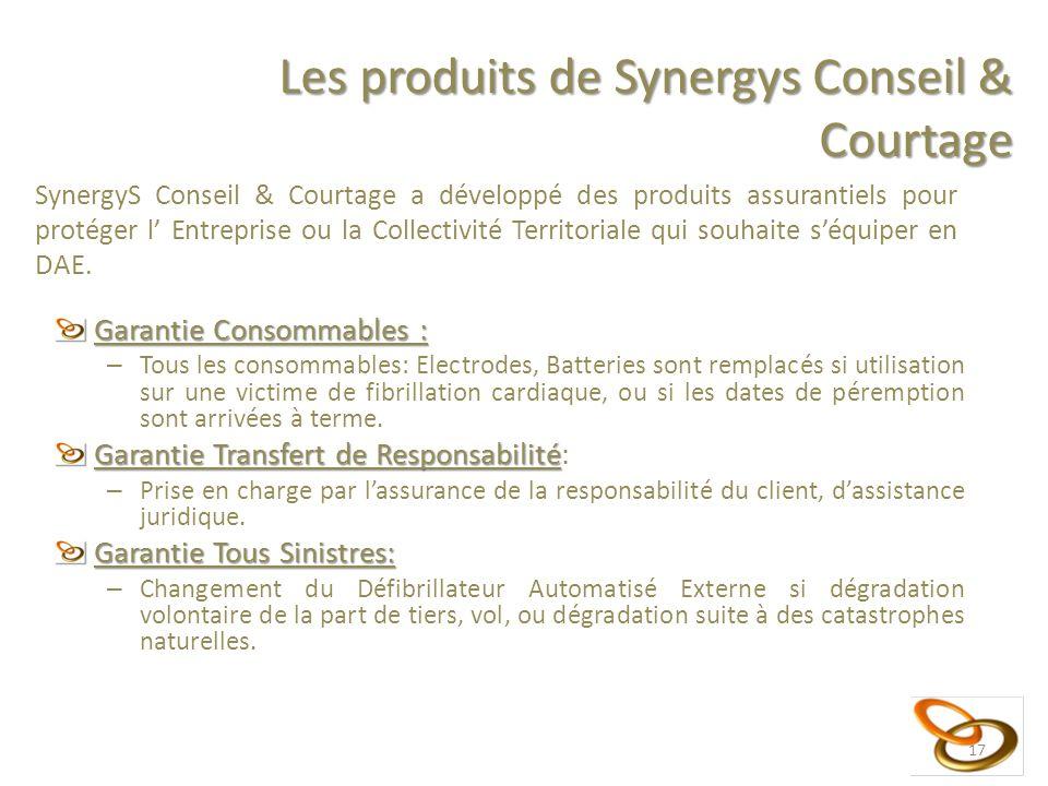 Garantie Consommables : – Tous les consommables: Electrodes, Batteries sont remplacés si utilisation sur une victime de fibrillation cardiaque, ou si les dates de péremption sont arrivées à terme.