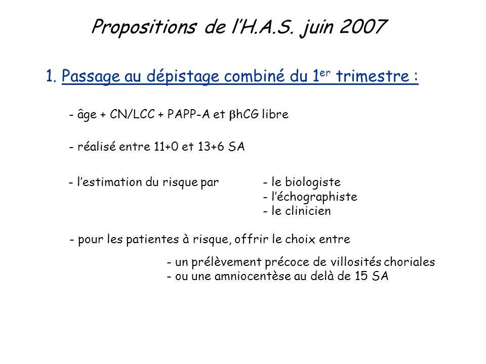 Propositions de lH.A.S.juin 2007 1.