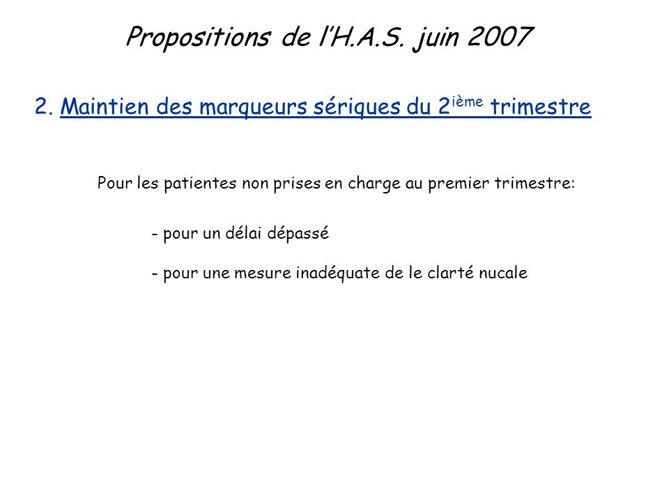 Propositions de lH.A.S.juin 2007 3.