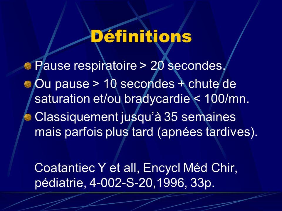 Physiopathologie Origine centrale, obstructive ou mixte.