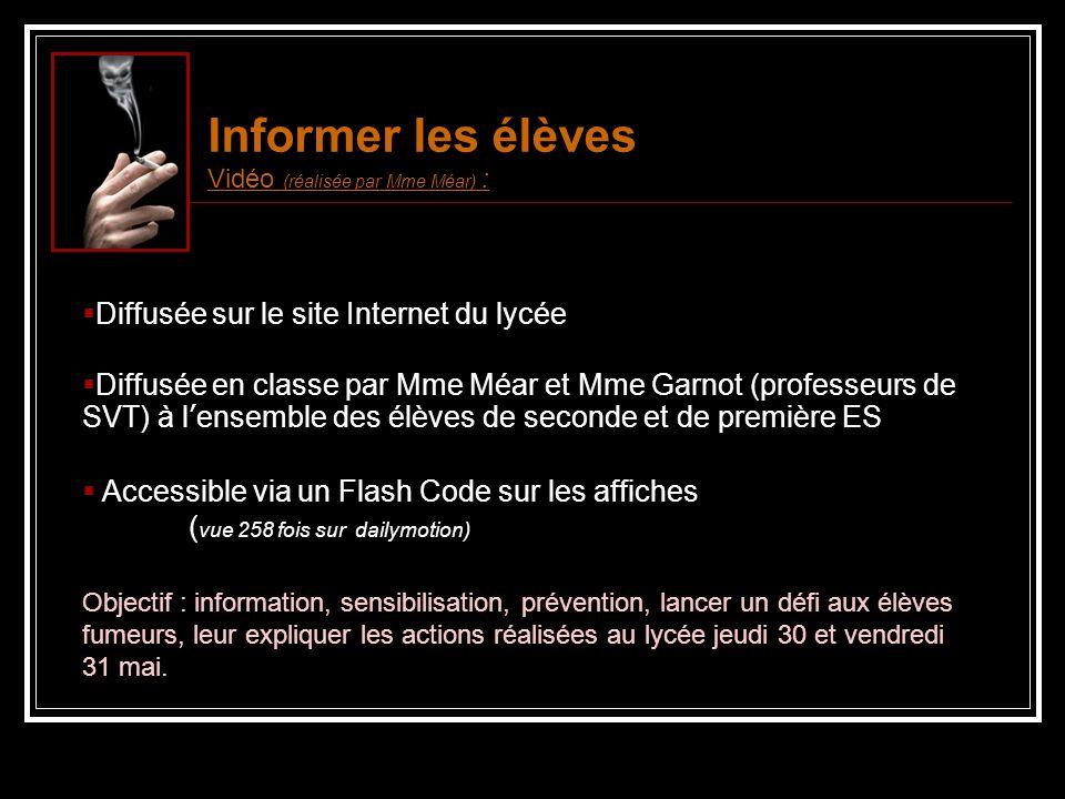 EXPOSITION - Jeudi 30 mai et vendredi 31 mai : Les actions En face du CDI Posters officiels 3 affiches réalisées par un élève de 2 nd 3 (Grégoire PERRIN)