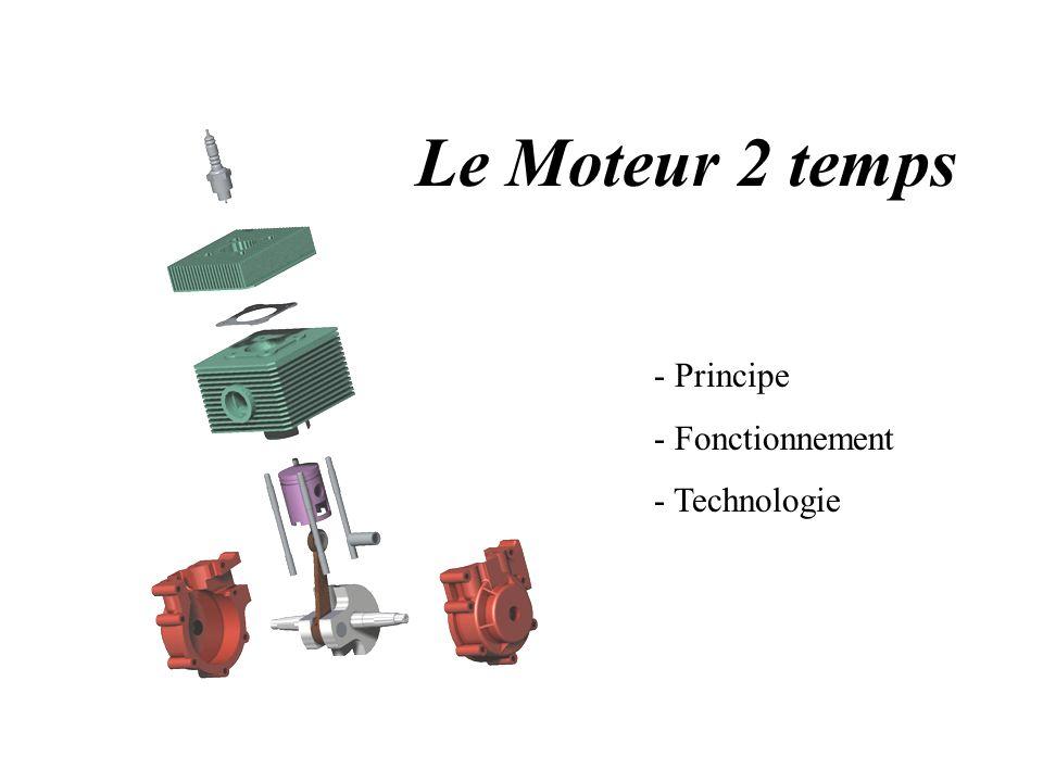 Le Moteur 2 temps - Principe - Fonctionnement - Technologie