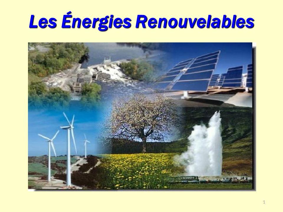1 Les Énergies Renouvelables