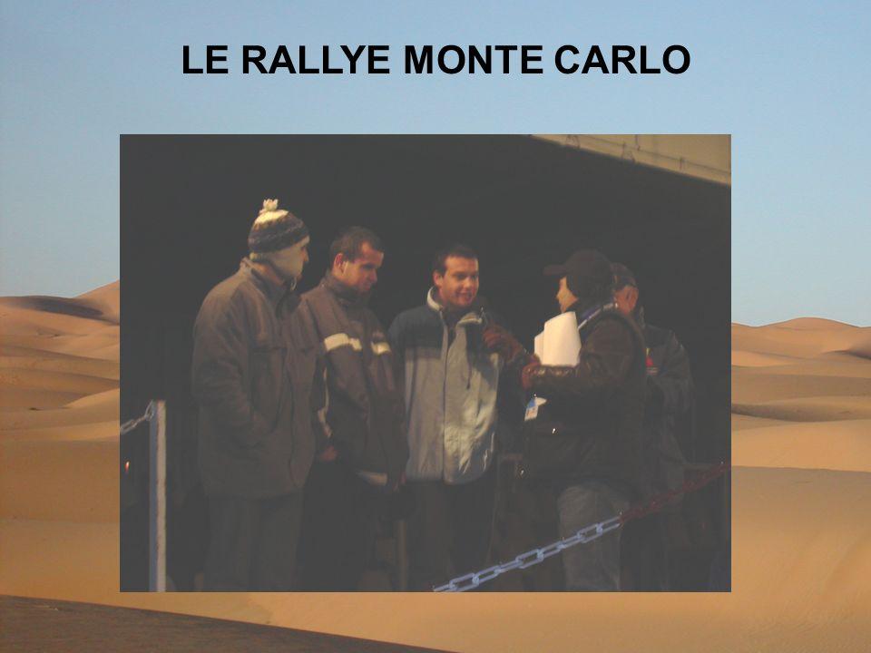 LE RALLYE MONTE CARLO