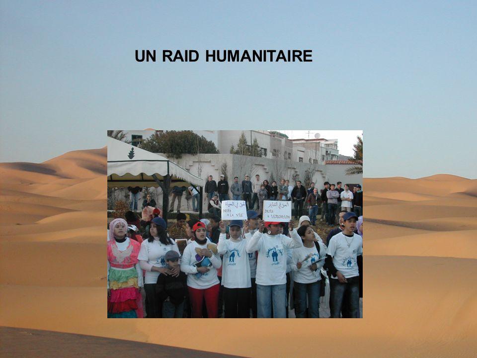 UN RAID HUMANITAIRE