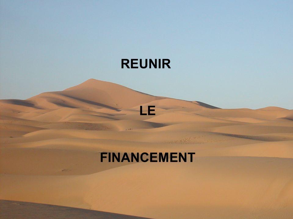REUNIR LE FINANCEMENT
