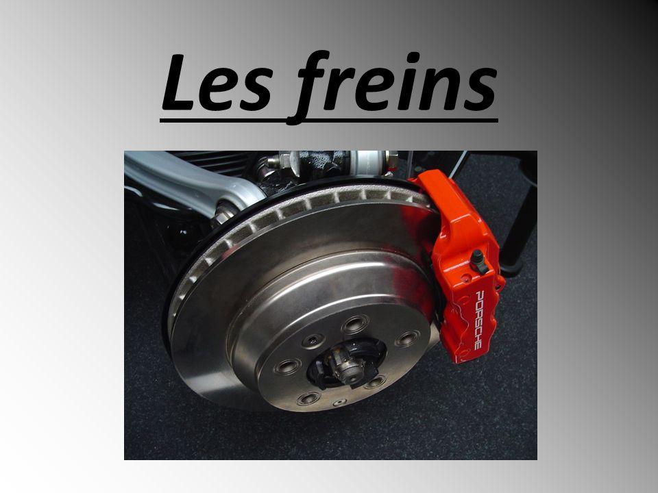 Introduction Frein : système permettant de ralentir, voire dimmobiliser des pièces en mouvement.