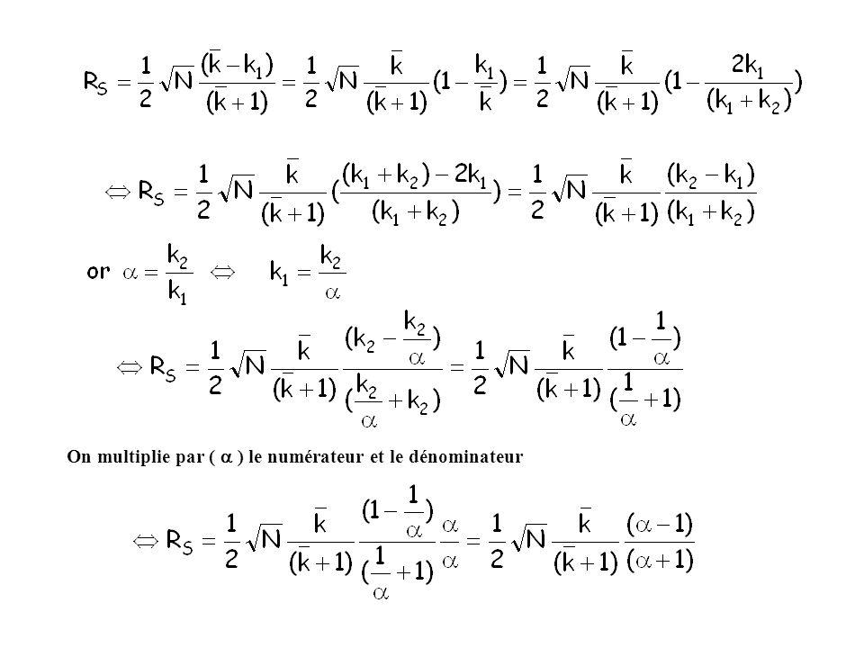 On multiplie par ( ) le numérateur et le dénominateur