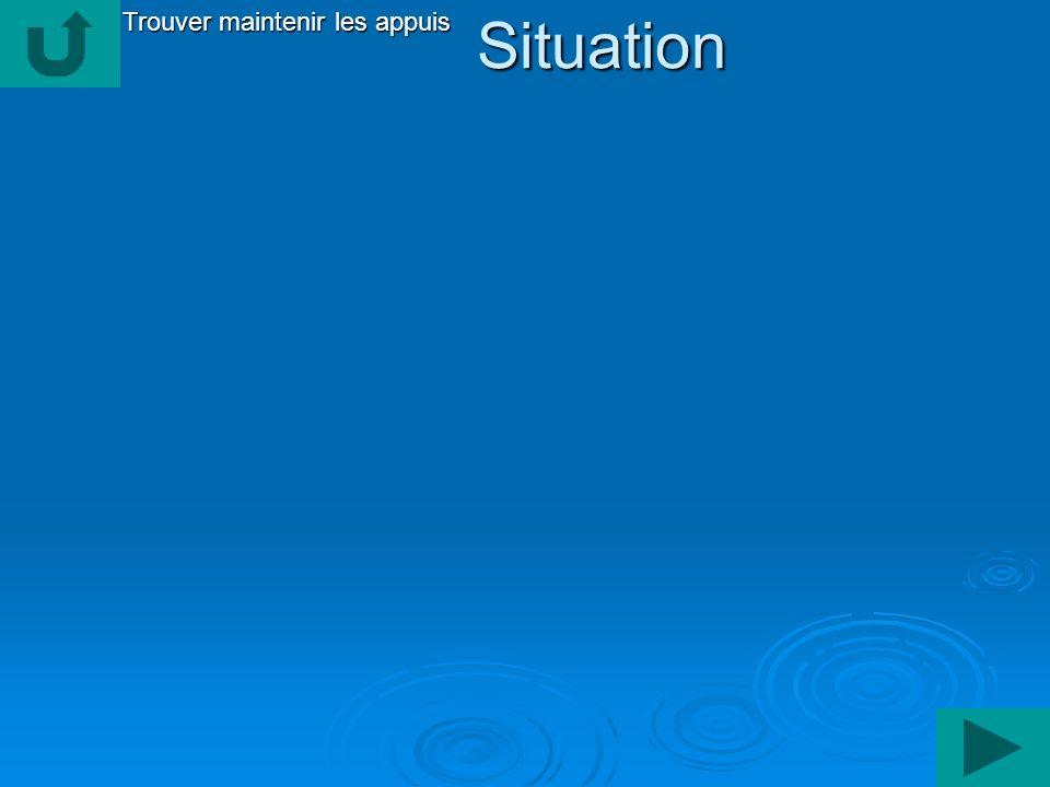 Situation Situation Trouver maintenir les appuis