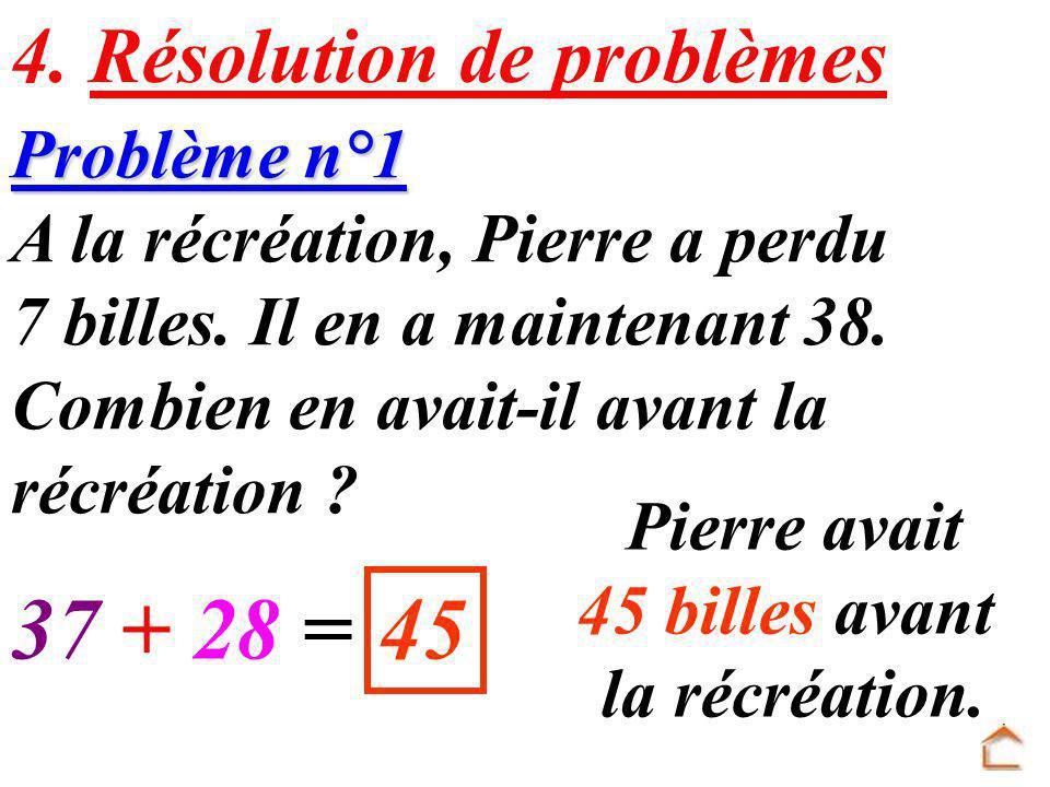 Problème n°2 En sixième, il y a 15 élèves de plus que l an dernier.