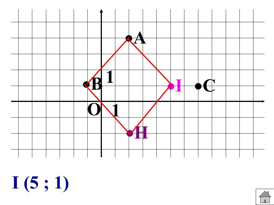 I H C B A 1 1 O I (5 ; 1)