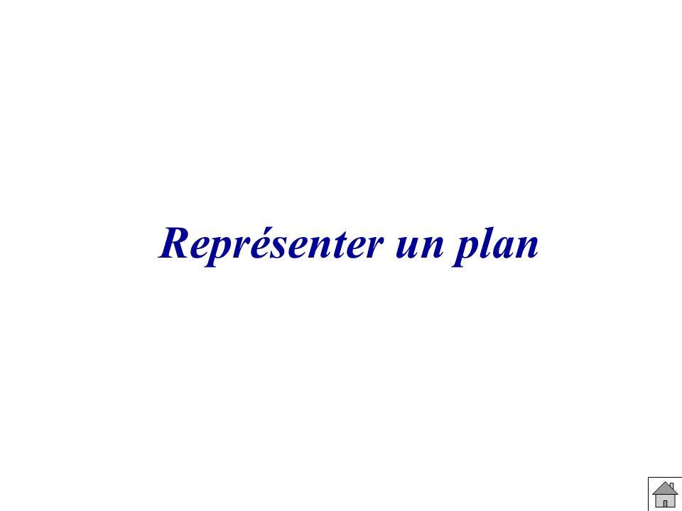 Représenter un plan