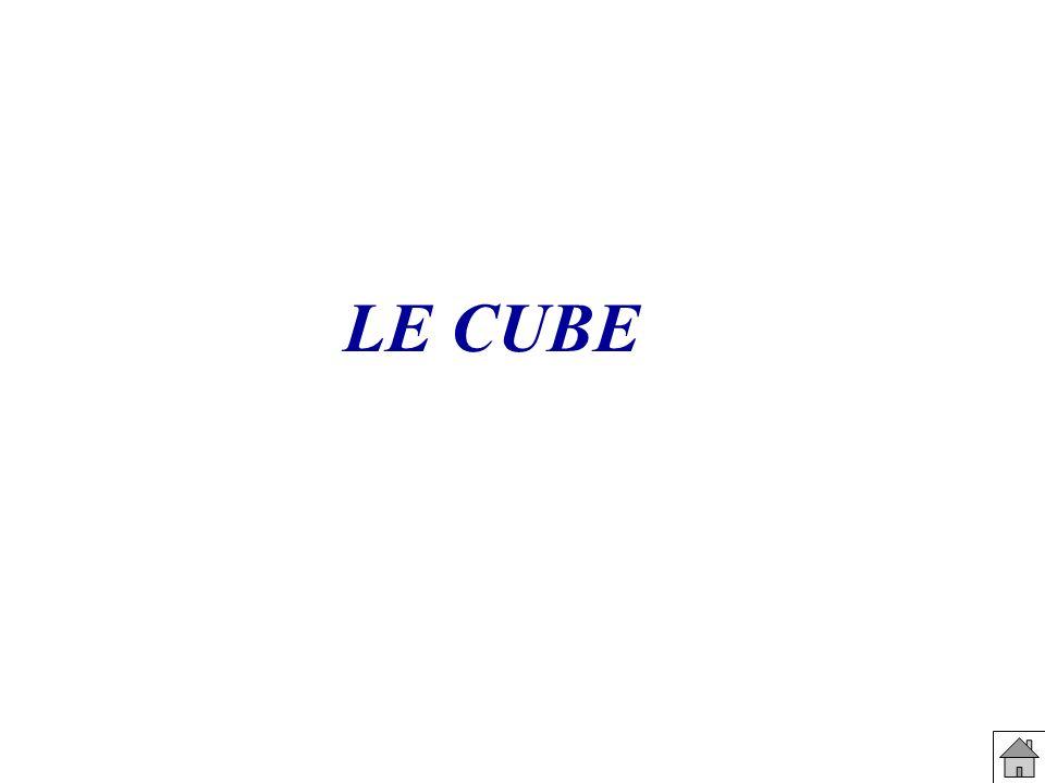 Section d un cube par un plan parallèle à une arête Géospace Flash